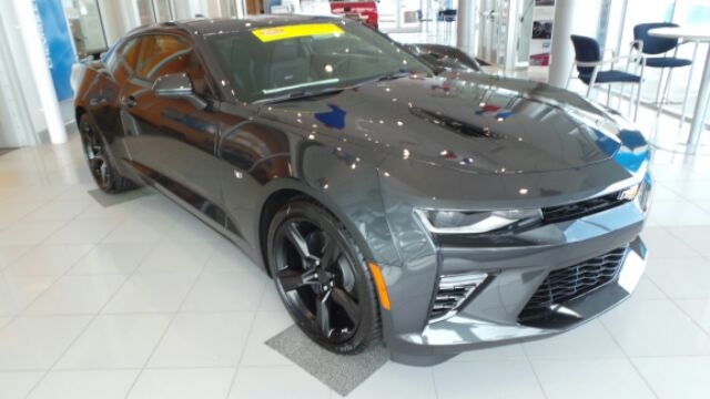 Certified Pre Owned Chevy >> New 2018 Chevrolet Camaro SS 2D Coupe in Greenfield #GJ021 | Dellen Automotive Group