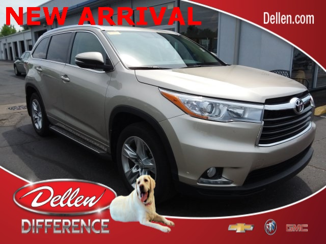 Toyota Of Greenfield >> Pre Owned 2014 Toyota Highlander Limited Awd