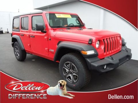New 2019 Jeep Wrangler Unlimited Sport S 4WD