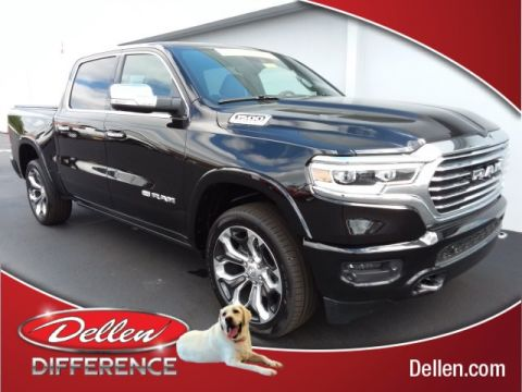 New 2020 Ram 1500 Laramie Longhorn With Navigation & 4WD