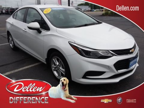 Certified Pre-Owned 2017 Chevrolet Cruze LT FWD 4D Sedan