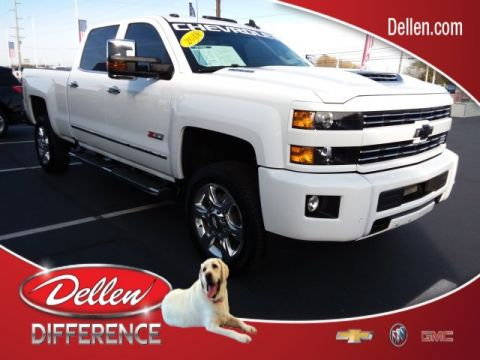 Certified Pre-Owned 2018 Chevrolet Silverado 2500HD LTZ