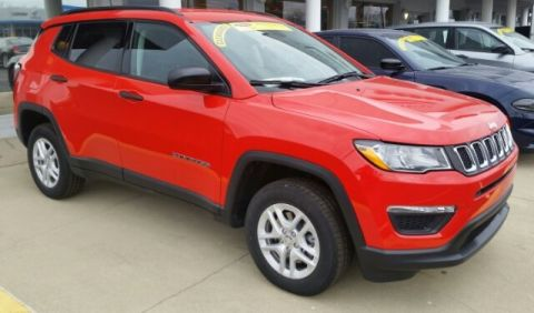 New 2017 Jeep New Compass Sport