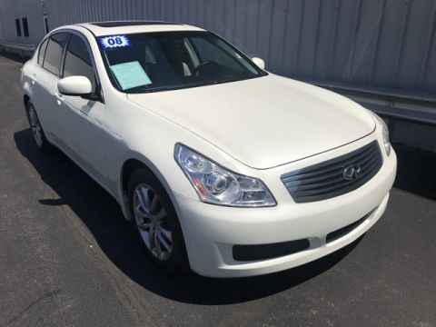 Pre-Owned 2008 INFINITI G35